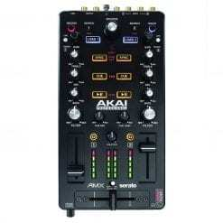 Akai Professional AMX   2-channel Mixing Surface with Audio Interface for Control of 2-decks of Serato DJ Pro