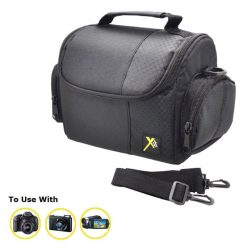 Xit Medium Digital Camera/Video Case (Black) XTCC2