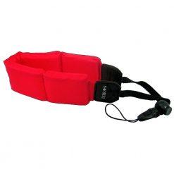 Zeikos ZE-FS10-R Floating Strap for Cameras (Red)