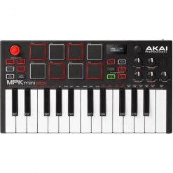 Akai MPK Mini Play with 128 Sounds and Built-in Speaker