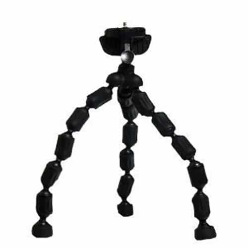 Vivitar SP6 Mini Flexible Tripod (Black)
