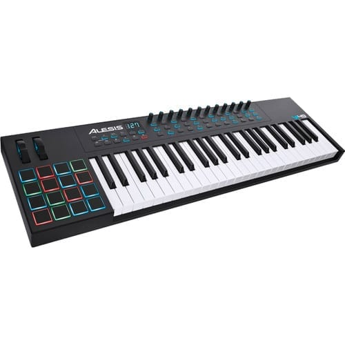 photo4less alesis vi49 advanced 49 key usb midi keyboard drum pad controller 16 pads 12. Black Bedroom Furniture Sets. Home Design Ideas