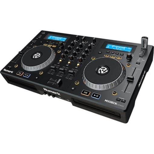 Numark MixDeck Express   Premium DJ Controller with CD & USB Playback [Current Model]