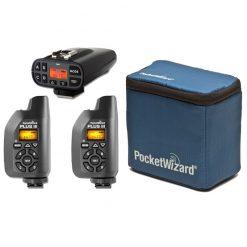 PocketWizard Plus IV/Plus III Bonus Bundle 4 , Includes Plus IV Transceiver and 2x Plus III Transceiver