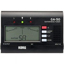 Korg GA50 Guitar and Bass Tuner Large Display