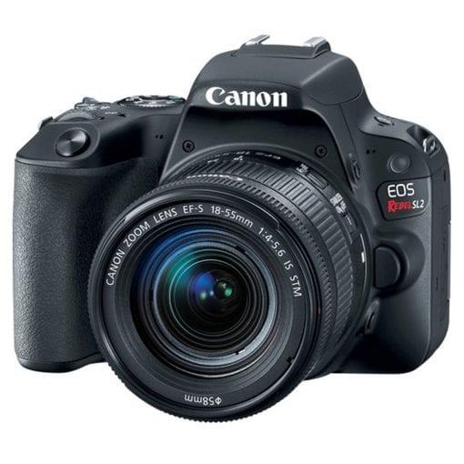 Canon EOS Rebel SL2 DSLR Camera + EF-S 18-55mm IS STM Lens - Full Bundle