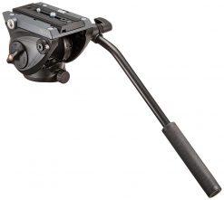Manfrotto MVH500AH Flat Base Pro Fluid Head (Black)