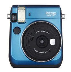 Fujifilm Instax Mini 70 - Blue Instant Film Camera (Blue)