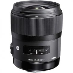 Sigma 35mm f/1.4 DG HSM Art Lens for Nikon DSLR Cameras (340306)