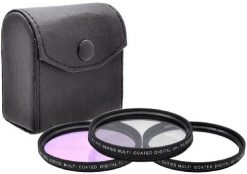 Xit 58mm 3-Piece Multi Coated Glass Filter Kit UV, CP & FLD Filter