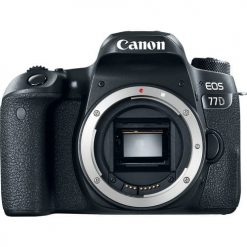 Canon EOS 77D 24.2MP Digital SLR Camera   Built-In Wi-Fi   More Brand New!