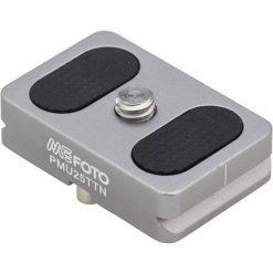 MeFOTO BackPacker Air Camera Plate - Titanium (PMU25TTN)