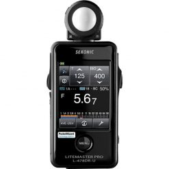 Sekonic L-478DR-U Lightmeter With Exclusive USA Radio Frequency And Exclusive 3-Year Warranty (401-477)