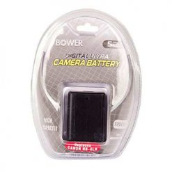 Bower XPDC6LH Replacement Battery for Canon NB-6LH (Black)