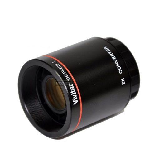 VIVITAR SERIES 1 T MOUNT 2X MULTIPLIER Converter F/Preset for 500mm, 420-800mm, 650-1300mm T-Mount Lenses