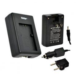 Vivitar 1 Hour Rapid Charger for Nikon EN-EL14 Battery