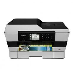 Brother MFCJ6920DW Wireless Multifunction Inkjet Printer with Scanner, Copier and Fax, (Refurbished)