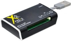 Xit All-In-1 Card Reader with Built-In USB Cord (XTALLCR)