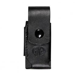 Leatherman SHEATH 939906 BLACK WITH LEATHER BOX (PKG)