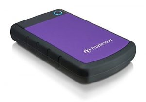 Transcend 4TB StoreJet 25H3 External Hard Drive (Purple)