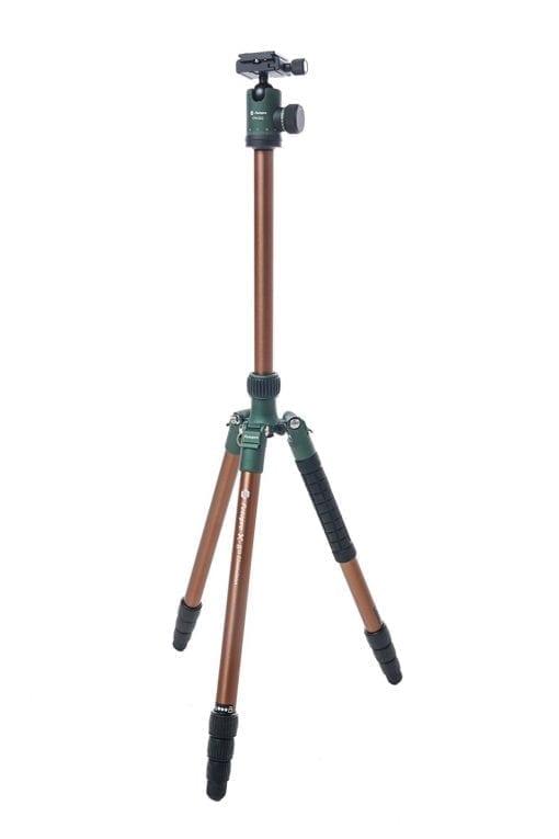 Fotopro X-Go Chameleon Tripod Kit-bronze with green matte