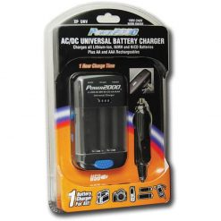 Power2000 XP-UNV AC/DC Universal Battery Charger for all Li-Ion, NiMH, NiCD plus AA & AAA Batteries