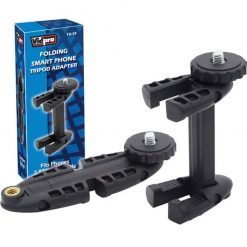 Vidpro TA-SF Folding Smartphone Tripod Adapter for Smart Phones 2.5 to 3.5 inches in width