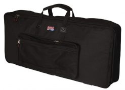 "Gator GKB61SLIM Keyboard Gig Bag to fit Most Slim Model 61 Note Keyboards. Internal dims 41.5"" x 12.5"" x 5"""