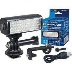 Vidpro LED-M52 LED Video Light for GoPro, Action Cameras & Smartphones