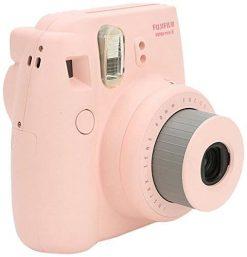 Fujifilm Instax Mini 8 Instant Film Camera (Pink) (Certified Refurbished)