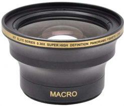 Xit XT3052F 52/58mm 0.30x Super Fisheye Lens (Black)