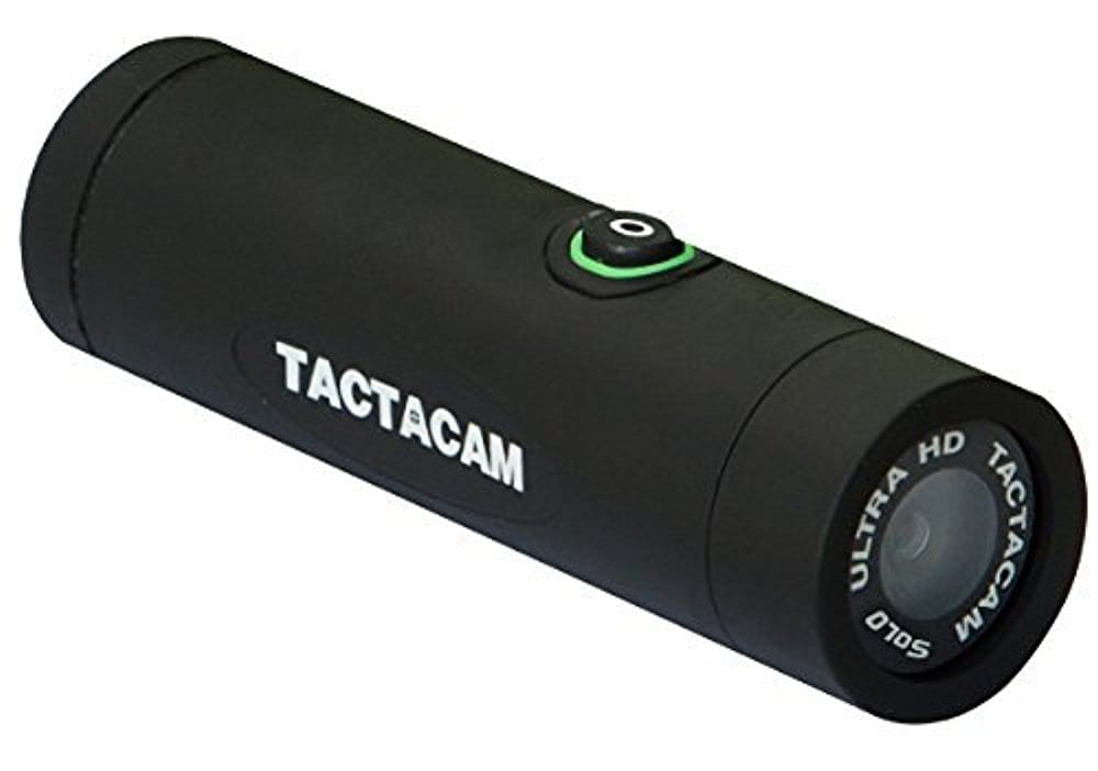 Tactacam SOLO – Ultra HD Shock Resistant Video Action Camera with 3X Zoom – Bow Package