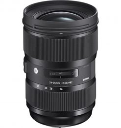 Sigma 24-35mm f/2 DG HSM Art Lens for Canon EF