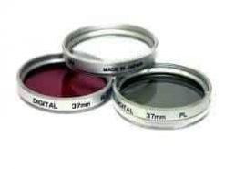 Vivitar 49mm 3-Piece Multi Coated Filter Kit UV, CP & FLD Filter