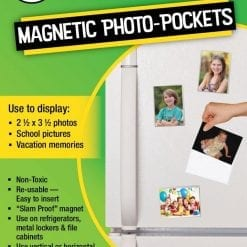 """Freez-A-Frame Clear Magnetic Photo Frames 2.5 """" x 3.5"""" (Pack of 24)"""