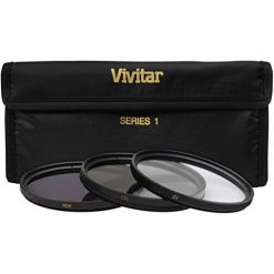 Vivitar VIV-FK3-82 3 Piece Filter Kit 82mm UV-FDL/CPL (Black)