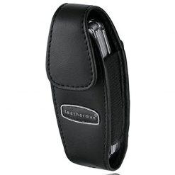 Leatherman 930905 Juice Black Leather Clip-on Multi-Tool Sheath w/ Snap Closure