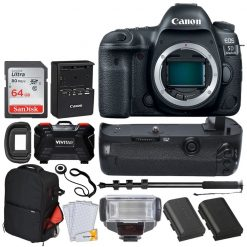 Canon EOS 5D Mark IV Full Frame Digital SLR Camera Body Brand New