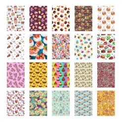 Xit 20 Sticker Frames for Fuji Instax Prints Cake Package XTFSTICK20CAKE