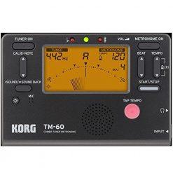 Korg TM60BK Tuner Metronome Black