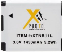 Xit XTNB11L 1450mAh Lithium Ion Replacement Battery for Canon NB-11L (White)