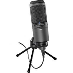 Audio-Technica AT2020USBI Cardioid Condenser USB Mic With Digital Output