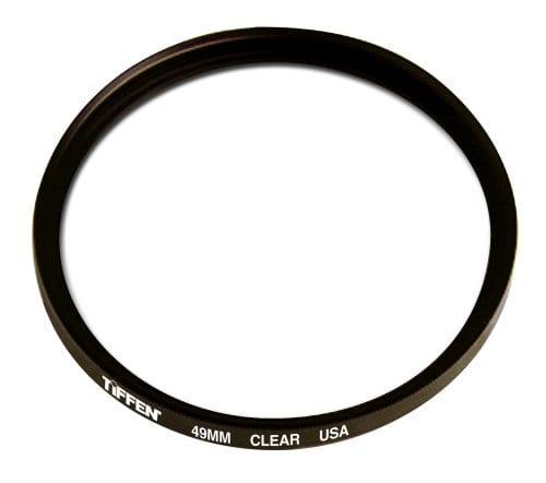 Tiffen 49mm Clear Lens Filter