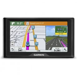 Garmin Drive 60 USA LMT GPS Navigator System with Lifetime Maps and Traffic, Driver Alerts, Direct Access, and Foursquare data( Certified Refurbished )