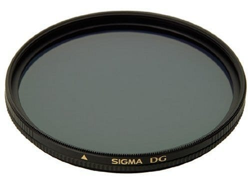 Sigma EX 58mm multi-Coated Circular Polarizer Filter