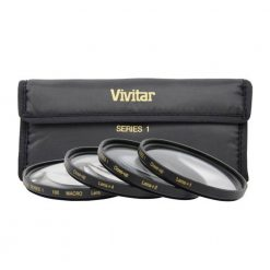 Vivitar Series 1 +1 +2 +4 +10 Close-Up Macro Filter Set with Pouch (62mm)