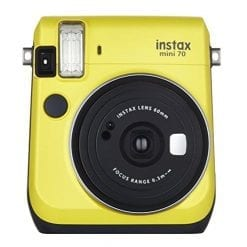 Fujifilm Instax Mini 70 - Yellow Instant Film Camera (Yellow)