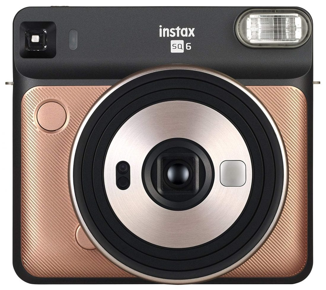 Instax Square SQ6 – Instant Film Camera – Blush Gold