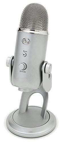 Blue Yeti USB Microphone - Silver