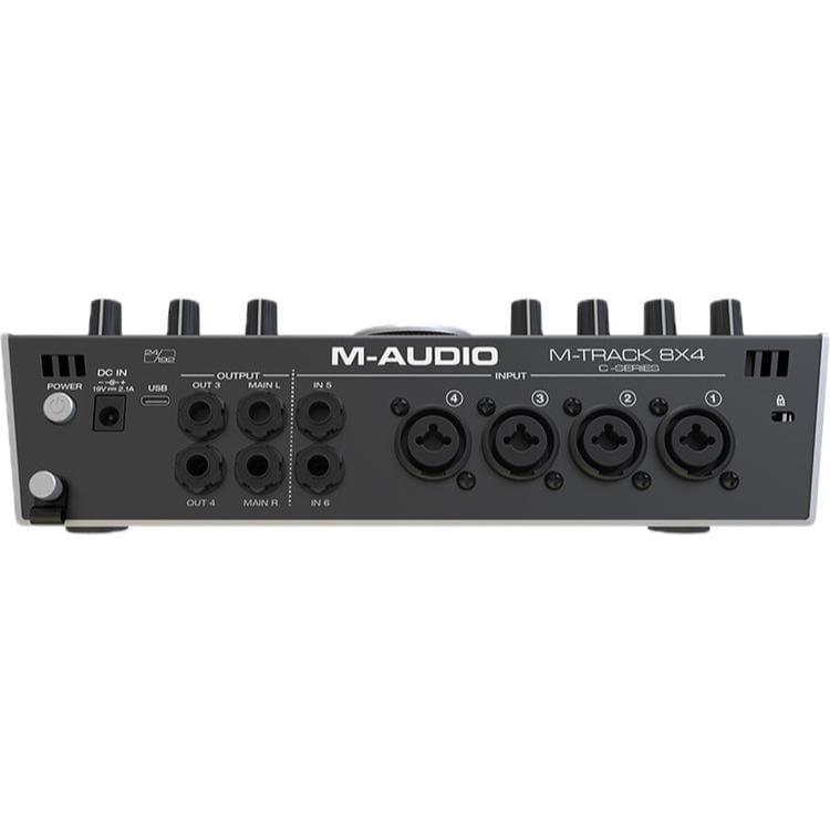 Photo4Less   M-Audio M-TRACK 84 High Speed Audio Interface, USB-C, 8 x 4M